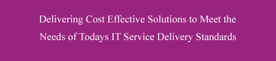 IT Service Delivery.